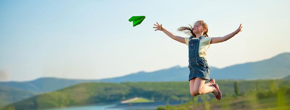 I benefici per i bambini del gioco all'aria aperta