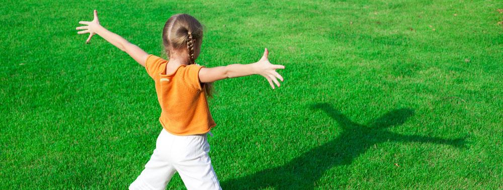 Giochi al parco: Il gioco dell'acchiappa-ombra
